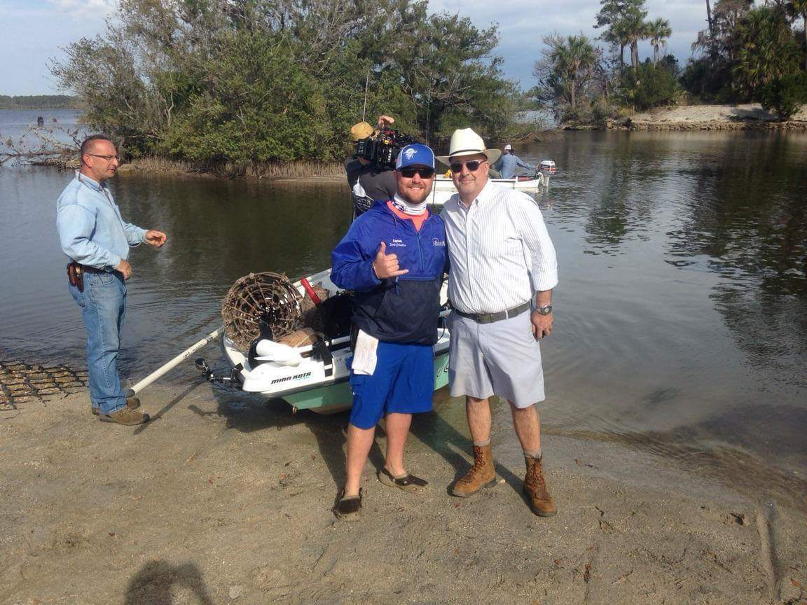 Ormond beach native will be on bizarre foods with andrew for Ormond beach fishing