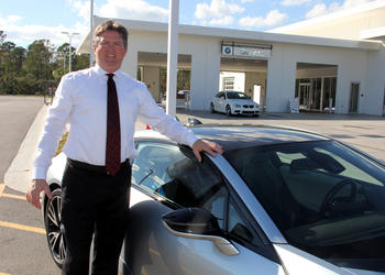 Steve McDonald, General Manager of Fields Auto Group in Daytona Beach.
