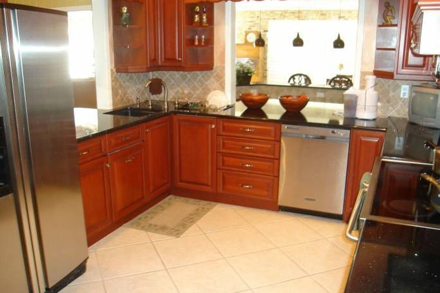 The kitchen in the top seller is shown above. Courtesy photo
