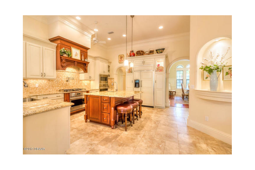 The kitchen in the top selling house is shown. Courtesy photo