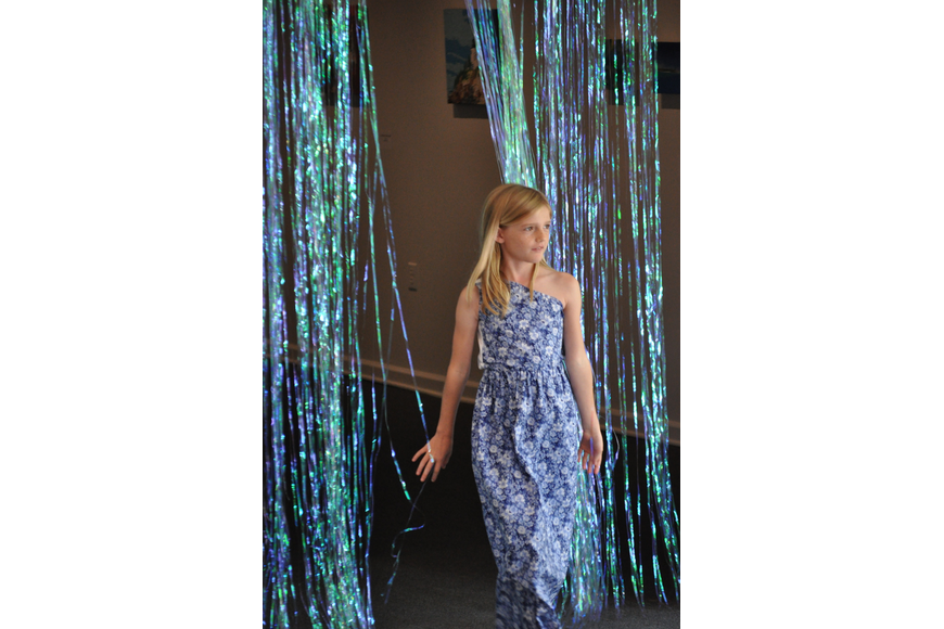 Brooke Hoobler, 8, during the Fashionista Camp fashion show on June 30, at the Ormond Memorial Art Museum.