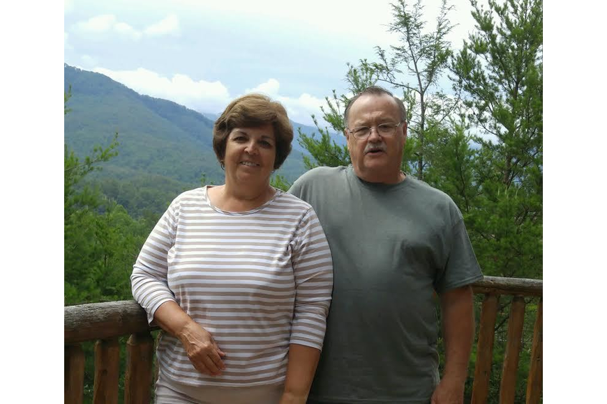 Diana and Terry Schaack were in Gatlinburg, Tennessee for their 50th anniversary. Courtesy photo