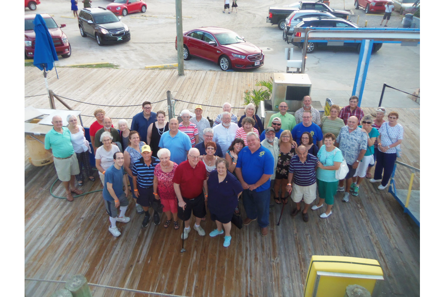 Almost 50 club members and guests enjoyed the buffet dinner and Dolphin View River Cruise one Sunday evening in August.
